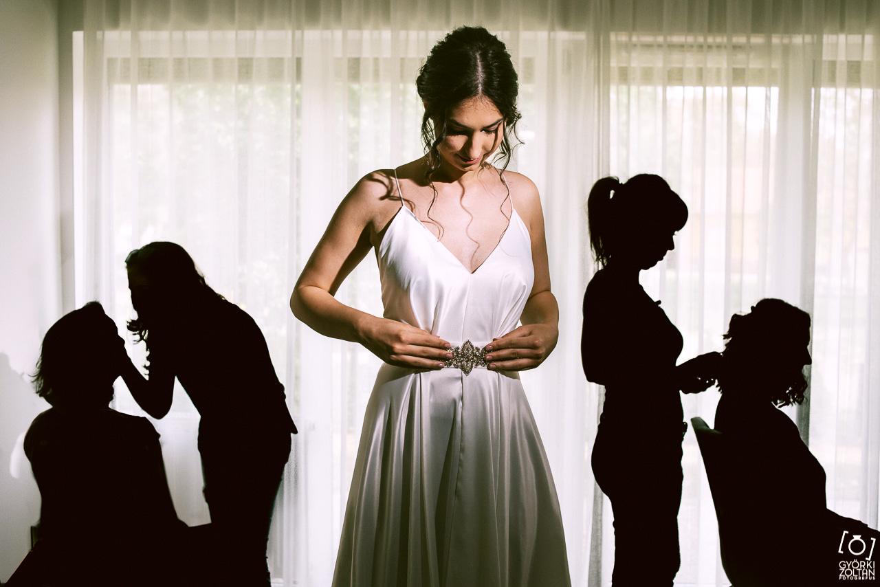 esküvői fotó készülődés előkészületek