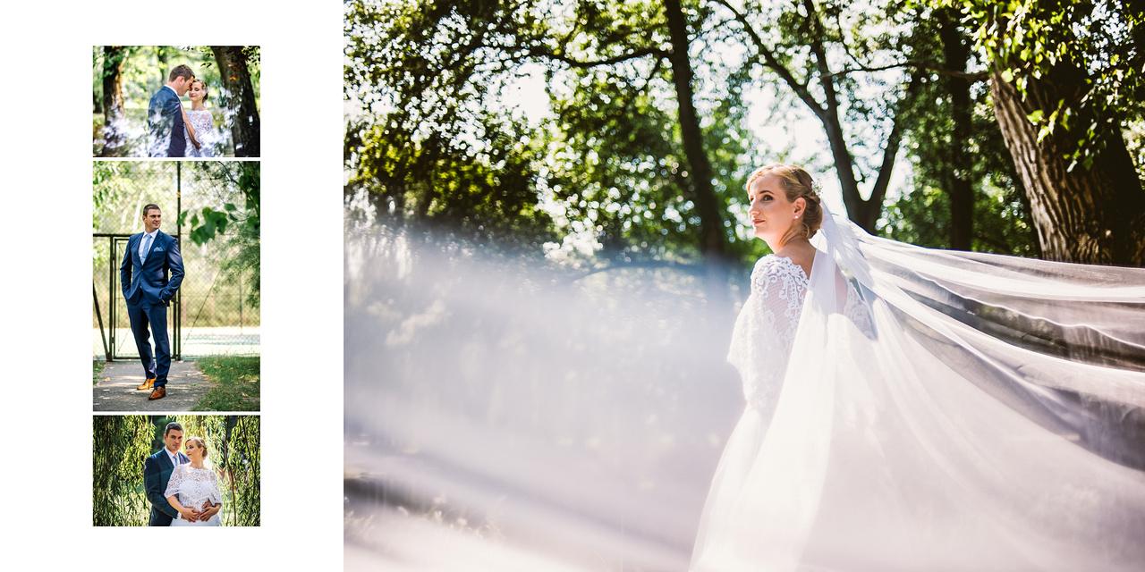 esküvői album