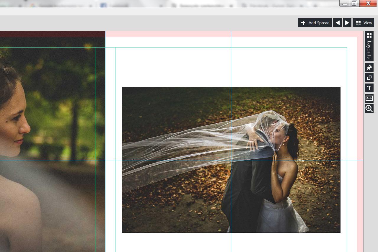 esküvői album fotókönyv