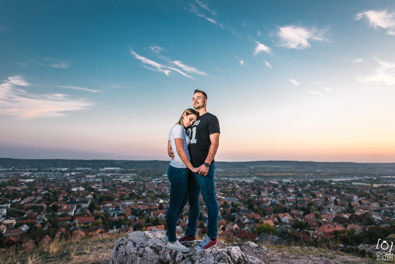 Jegyes fotózás Budaörs, Kőhegy